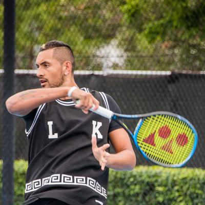 Cover art for Revolutionizing Tennis, with Nick Kyrgios