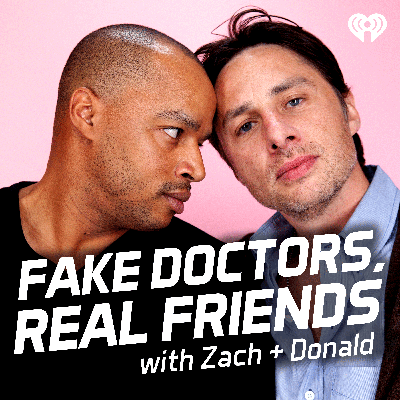 You know what's long, tedious and boring? Surgery. You know what isn't? This new podcast! Join Scrubs co-stars and real-life best friends Zach Braff and Donald Faison for a weekly comedy podcast where they relive the hit TV show, one episode at a time. Each week, these BFFs will discuss an episode of Scrubs, sharing behind-the-scenes stories and reminiscing on some of their favorite memories from filming. They'll also connect with Scrubs super fans and feature beloved show cast members for exclusive interviews.