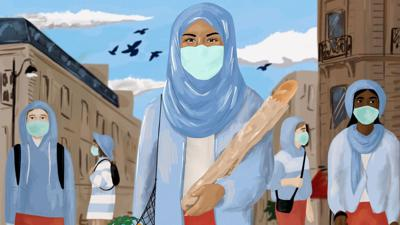 Cover art for From Niqab To N95